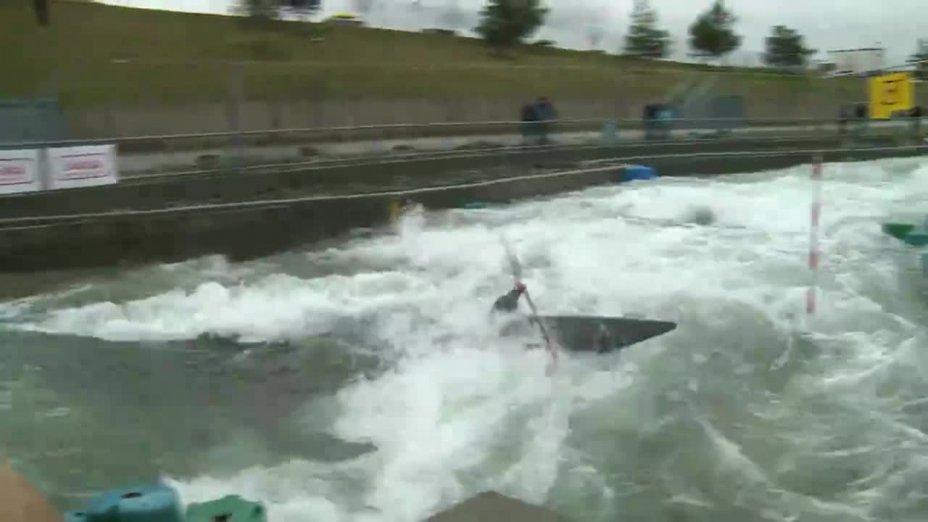 Boekelmann Paul - FINAL Run | 2015 ICF Canoe Slalom Ranking - Markkleeberg
