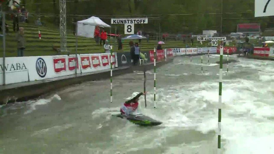 Alexander Grimm - Quali 2015  Rennen 4 K1-Herren-Finale / Augsburg