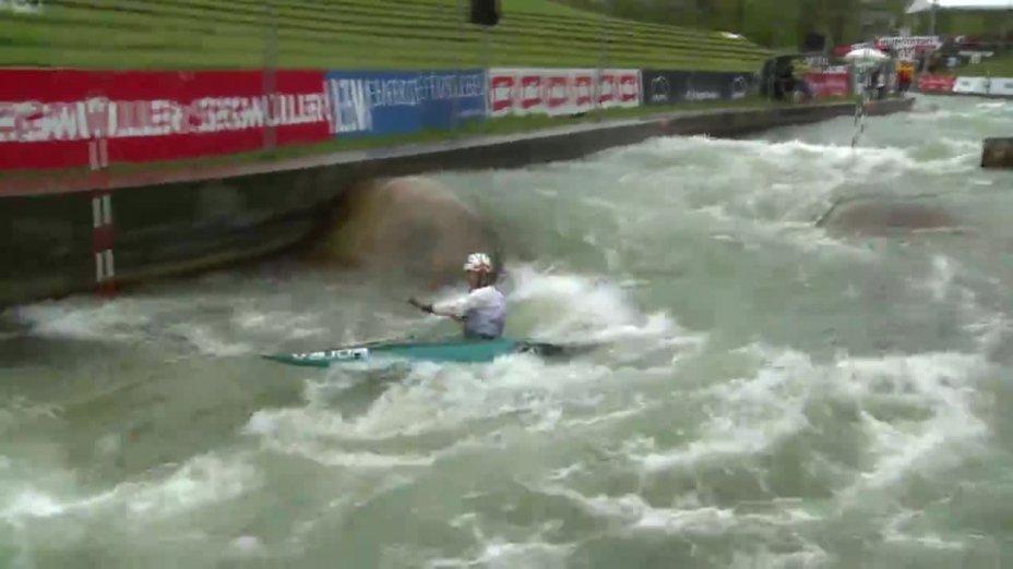 Jasmin Schornberg - Quali 2015 |Rennen 4|K1-Damen-Finale / Augsburg