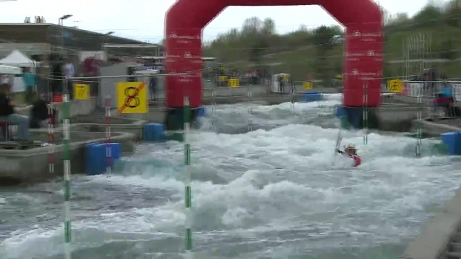 Jasmin Schornberg - Quali 2015  Rennen 2 K1-Damen-Finale / Markkleeberg