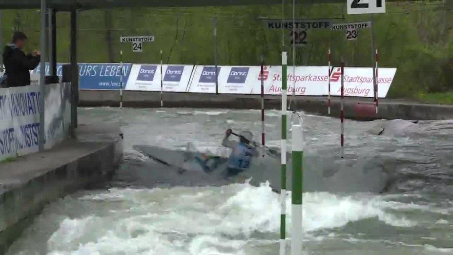 Florian Beste - Quali 2015  Rennen 3 C1-Herren-Finale / Augsburg
