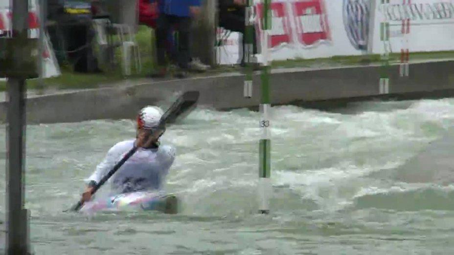 Melanie Pfeifer - Quali 2015  Rennen 4 K1-Damen-Finale / Augsburg