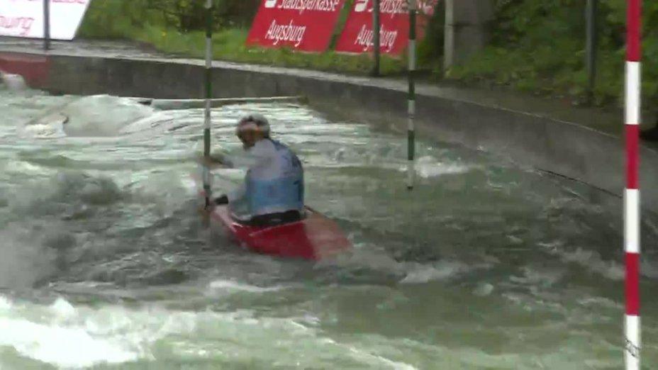 Franz Anton - Quali 2015  Rennen 4 C1-Herren-Finale / Augsburg