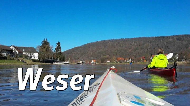 Frühling auf der Weser: Hann-Münden - Hemeln - Gieselwerder