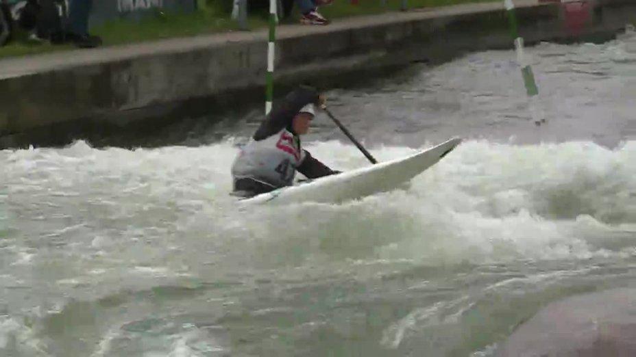 Karolin Wagner - Quali 2015  Rennen 3 C1-Damen-Finale / Augsburg