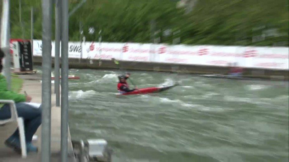 Tim Maxeiner - Quali 2015  Rennen 3 K1-Herren-Finale / Augsburg