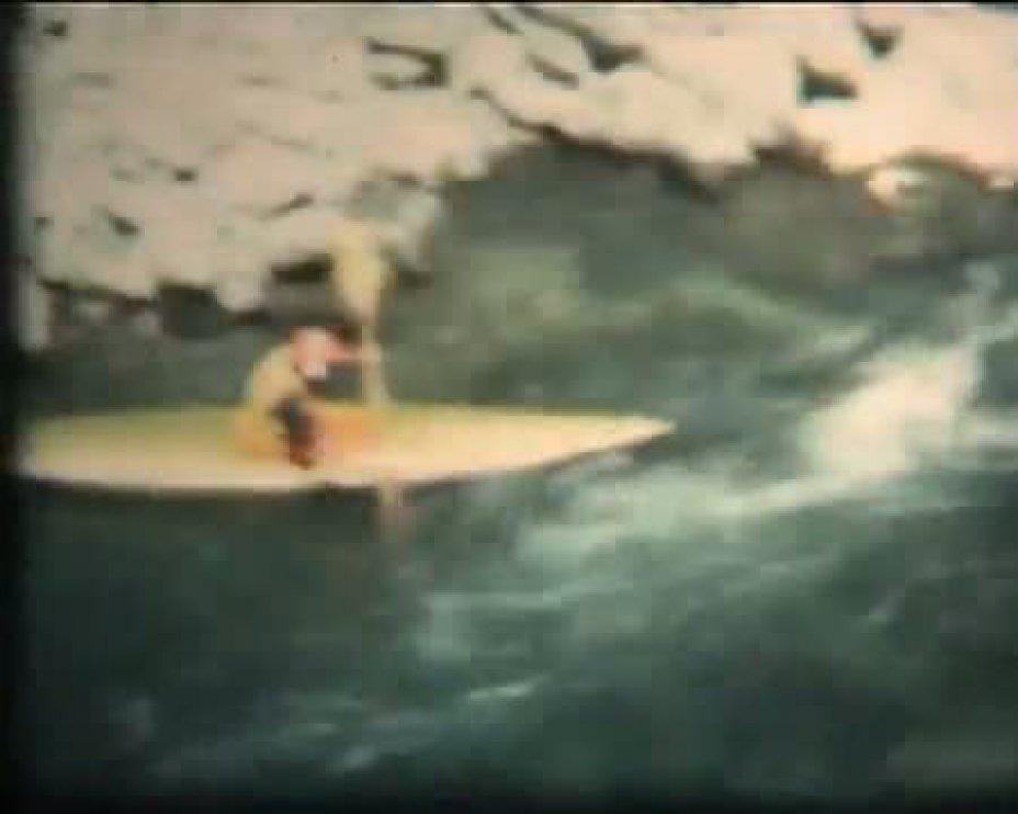 DURANCE CANOE KAYAK 1976, HAUTES ALPES (FRANCE)