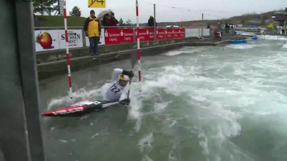 Aigner Hannes - FINAL Run | 2015 ICF Canoe Slalom Ranking - Markkleeberg