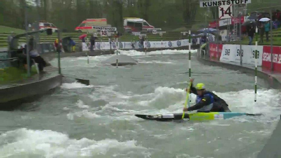 Müller / Müller - Quali 2015  Rennen 4 C2-Herren-Finale / Augsburg