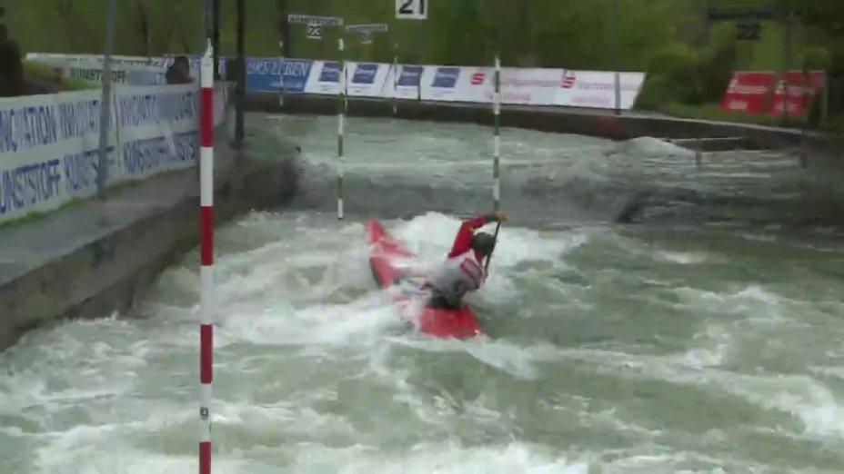 Andrea Herzog - Quali 2015  Rennen 4 C1-Damen-Finale / Augsburg