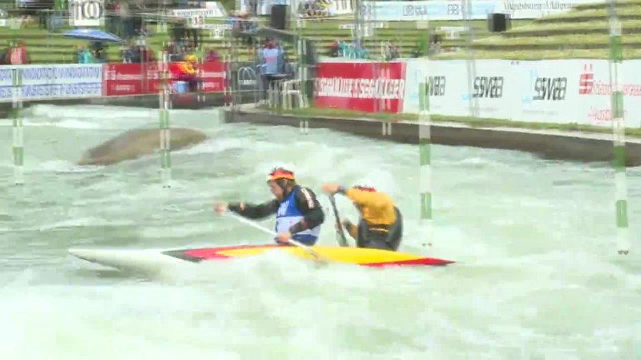 Schröder / Bettge - Quali 2015 |Rennen 3|C2-Herren-Finale / Augsburg