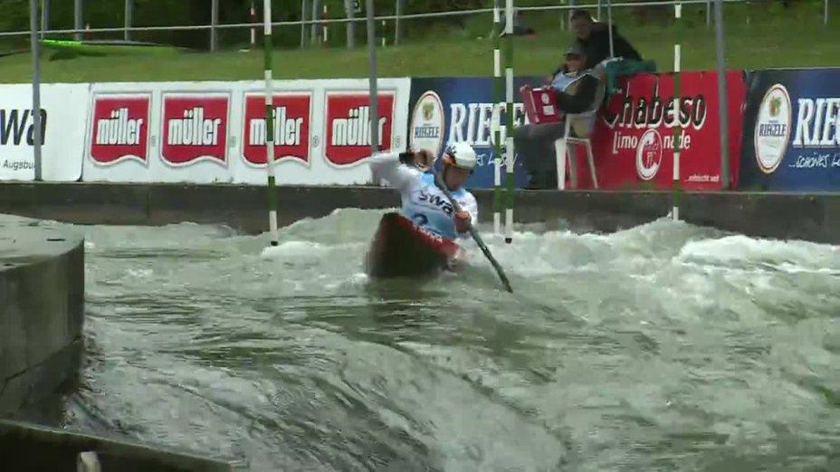 Jan Benzien - Quali 2015  Rennen 4 C1-Herren-Finale / Augsburg