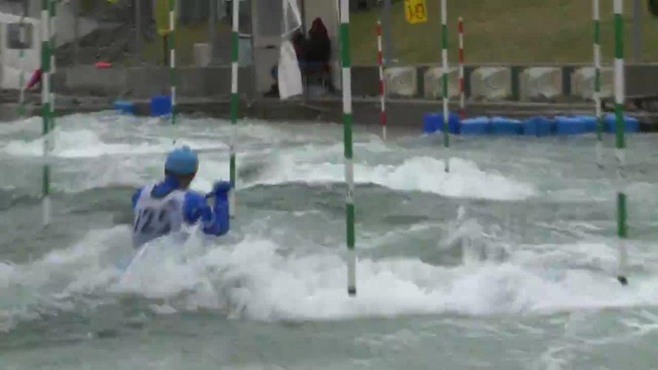 PRSKAVEC JIRI - FINAL Run | 2015 ICF Canoe Slalom Ranking - Markkleeberg