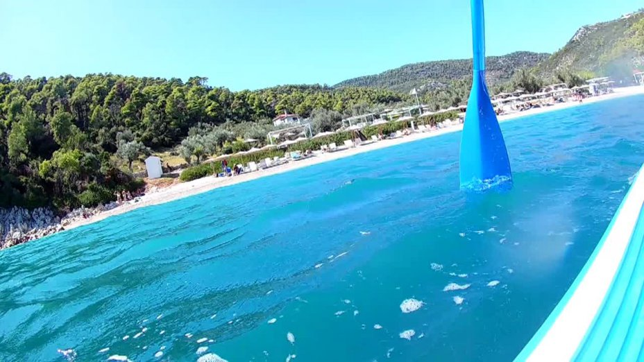 Alonnisos by SUP